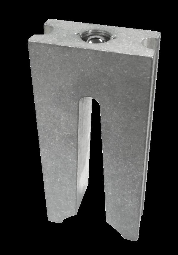 "Track Clip Installation Tool 3"" Lug Accessory"